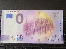 BILLET EURO SOUVENIR 2020-2 VIADUC DE MILLAU ANNIVERSAIRE
