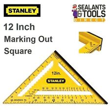 Stanley Hi Vis Dual Colour Roofing Quick Square 12 Inch STHT46011 Carpenters
