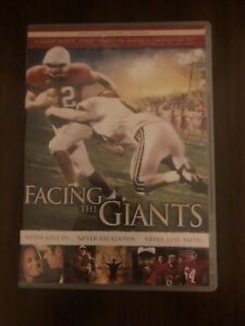 Facing The Giants DVD Special Collector's Edition Region 1 Rare