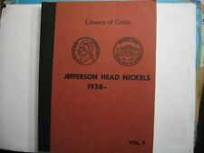 DISPLAY CASE ONLY FOR JEFFERSON HEAD NICKELS 1938- VERY OLD VINTAGE CASE