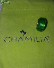 brand new chamilia green murano Retired