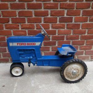 Vintage Ford 8000 Pedal Tractor Ertl original