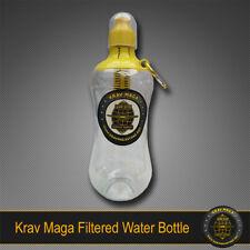 KRAV MAGA CARBON FILTERED WATER BOTTLE BPA-Free
