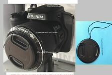FRONT SNAP-ON LENS CAP DIRECTLY to FUJI CAMERA S9800 FINEPIX FUJIFILM+HOLDER