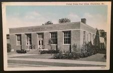 United States Post Office, Charleston, Mo. 1943 Curteich-Chicago 0B101