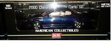 2000 CHEVY MONTE CARLO SS Diecast Car 10 inch SUN STAR 1:18 AMERICAN SS1986 BLUE
