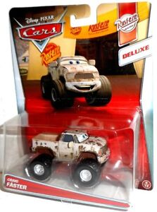 CRAIG FASTER - Rusty Rust-eze Racing Monster Truck vehicle Disney Mattel Cars