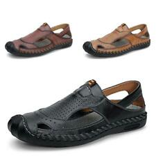 38-46 Summer Mens Roma Beach Sandals Shoes Sports Walking Soft Non-slip Casual L