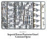 10 Imperial Roman Praetorian Guard COMMAND Sprue 28mm Hail Caesar Warlord Games