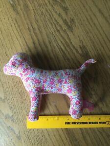 Victoria Secret Pink dog, pink floral, EUC