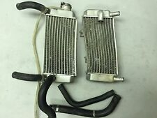 2004 - 2009 crf250r crf250 crf crf250x radiators left right factory oem cap