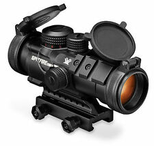 Vortex Optics SPR-1303 Spitfire 3x Prism Scope with EBR-556B Reticle (MOA) Black