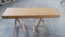 MENSOLONE BAGNO    in legno 150 cm colore rovere anche su misura