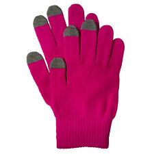 Muvit Touch Screen Gloves Handschuhe MUHTG0014, Size M, pink, Blister