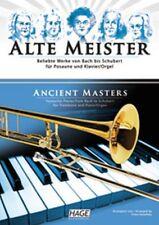 HAGE Kanefzky: ALTE MEISTER für Posaune und Klavier/Orgel NEU! (EH 1516)