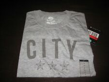 MANCHESTER CITY NIKE T SHIRT,TAGS/PACKET,LARGE