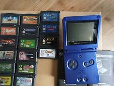 Gameboy Advance SP mit Spielen