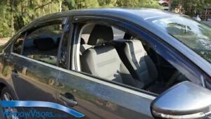 Window Visors Weathershields weather shields for Alfa Romeo 159 Sedan 2005-2011