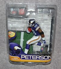 MINNESOTA VIKINGS ADRIAN PETERSON #28 BRONZE CL/3000 RETRO JERSEY SERIES 26 AF