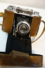 Ensign Commando Cased Vintage Classic English Folding Rangefinder Camera