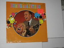 33rpm HOMER & JETHRO the best of(IN SHRINK)RCA LPM-3474(MONO) nice SEE PICS