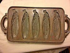Cast Iron Pan Corn Husker Cornbread Mold Country Decor John Wright 1984 USA