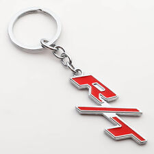 1x New Metal RT Sport Car Emblem Styling Keychain Key Chain Fob Ring Gift/Red