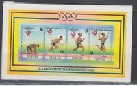 Nevis 1988 Summer Olympics MS Sc 569e  Complete  mint never hinged