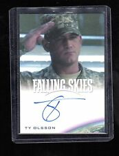 2015 Falling Skies Collector,s Ty Olsson auto. card #2