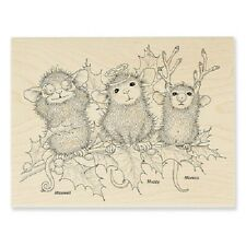 HOUSE MOUSE RUBBER STAMPS CHRISTMAS CHARACTERS  STAMP