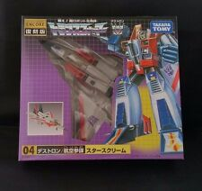 Transformers Starscream G1 Encore Takara Tomy Anime Manga Robot Robo
