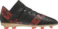 adidas Nemeziz 17.3 Firm Ground Junior Football Boots - Black