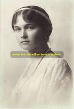 mm110 - Grand Duchess Olga Romanov - daughter of last Czar- Royalty photo 6x4