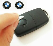 2x Replacement 11MM Car Key Sticker For BMW Fob Emblem Badge Radio Button