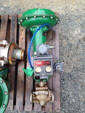 FISHER TYPE EZ 1 INCH CLASS 150 DVC5000 667 ACTUATED VALVE