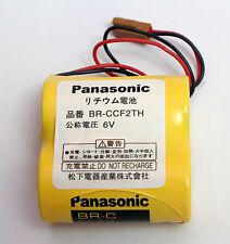 Brand New Panasonic BR-CCF2TH BR-C PLC 6V 5000mAh Battery w/ Wire