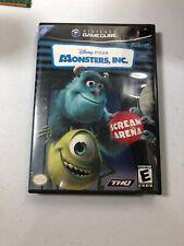 Monsters, Inc.: Scream Arena (Nintendo GameCube, 2002) Complete