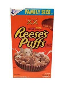 Kaws Reese's Puffs Original Fake Limited Edition Companion Sold Out *1