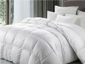 Goose feather and Duck Feather available Duvet TOG (13.5) Quilt or Pillows Soft