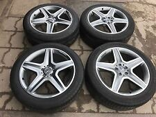 20-inch ORIGINAL MERCEDES ML,GLE,R-Class AMG Set of Four ALLOY WHEELS AND TYRES