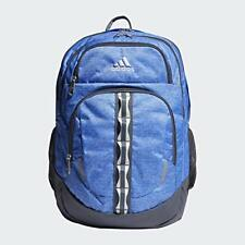 "adidas Prime V Backpack, Real Blue Jersey/Onix, 14.5""H x 14""W x 20.5""D"