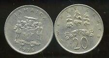 JAMAIQUE 20 cents  1976