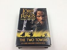 Lord of the Rings trading card game Two Towers Aragorn complete