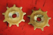 2 Odd Cole 383N Nylon Corn & Cotton Planter 9 Tooth Chain Rate Distance Sprocket