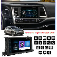 10.1'' Android 9.1 MP5 Radio GPS WIFI 4G For Highlander 2015-2019 With Canbus