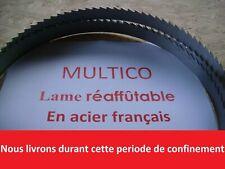 Lame de scie à ruban 2120mm largeur 20mm pour KITY 612 REAFFUTABLE FRANCAISE