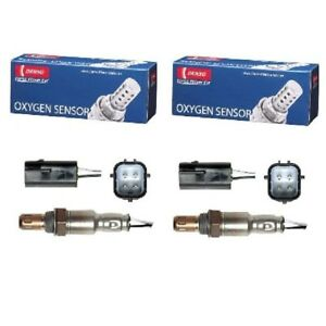 For Nissan GT-R Rear Left & Right Downstream O2 Oxygen Sensors x 2 DENSO 2344381