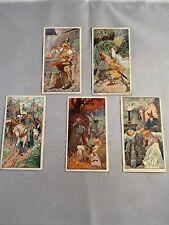 Victorian Advertising Trade Card Set Sigfried Saga Norse Mythology Litho 1900