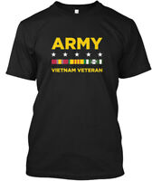Vietnam Veteran Army - Hanes Tagless Tee T-Shirt