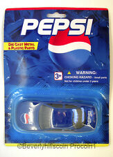Pepsi Golden Wheel Special Edition Die Cast Metal and Plastic Racing Sports Car